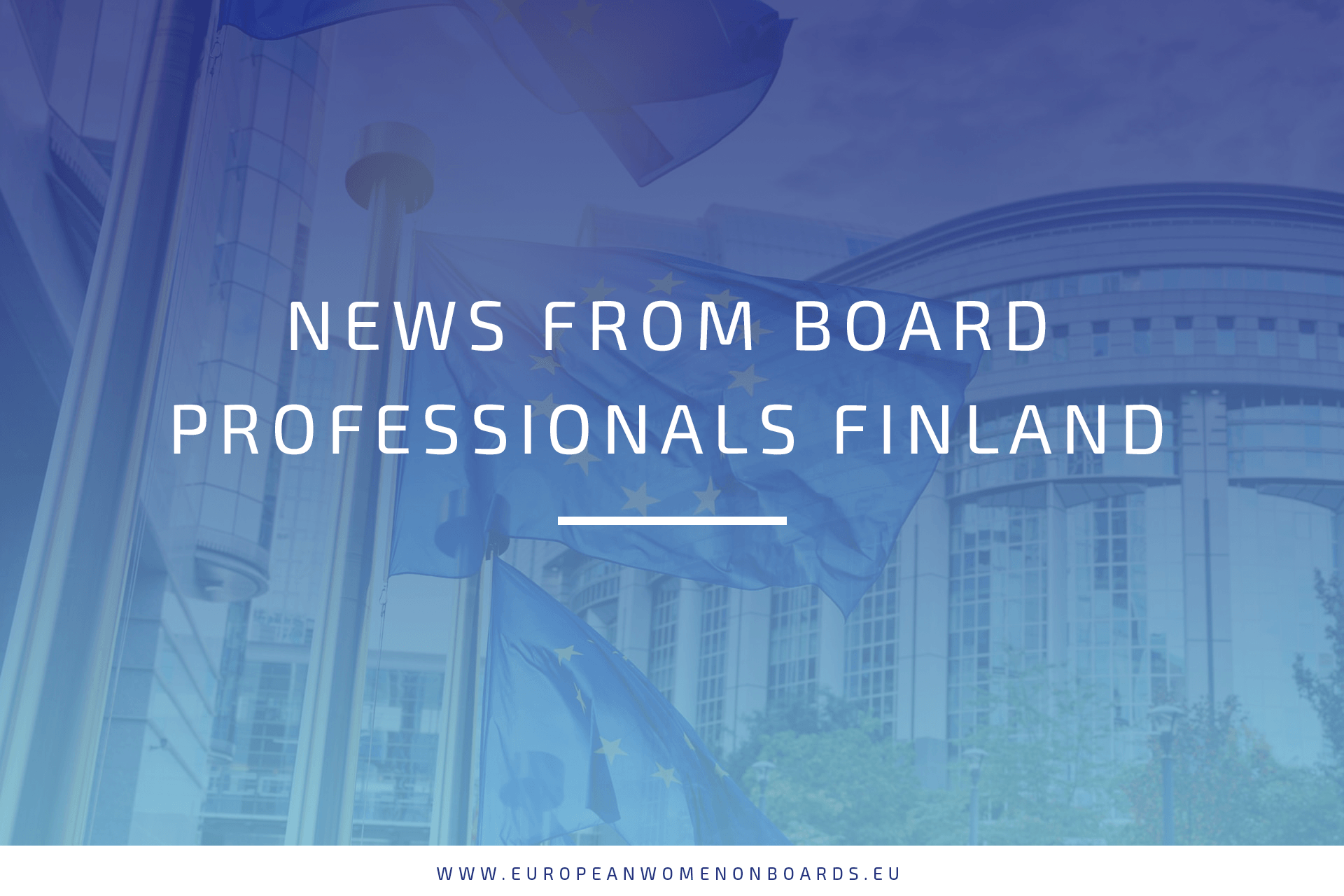 News from Board Professionals Finland